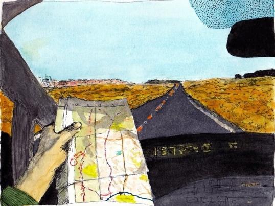 Dan Vera. Watercolor. 2014